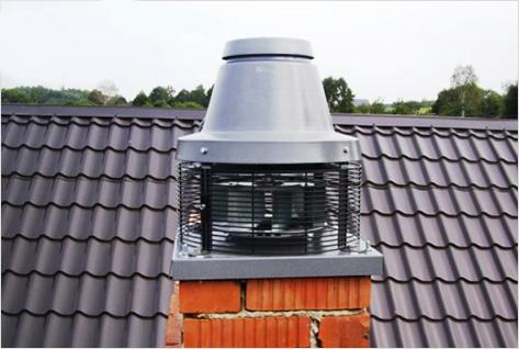 фартук дымохода на крыше