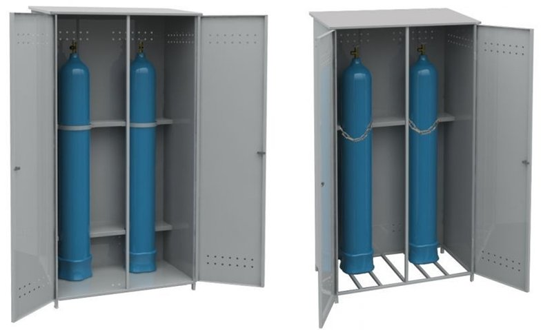 Шкаф для газового баллона, ящик для газа купить в Минске на 95