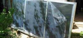 Как сделать рабочий солнечный коллектор из сотового поликарбоната своими руками