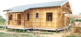 Как надежно утеплить щитовой дом для зимнего проживания — пошаговая инструкция