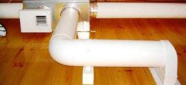 Вентиляционные трубы пластиковые для вытяжки – основные размеры и виды