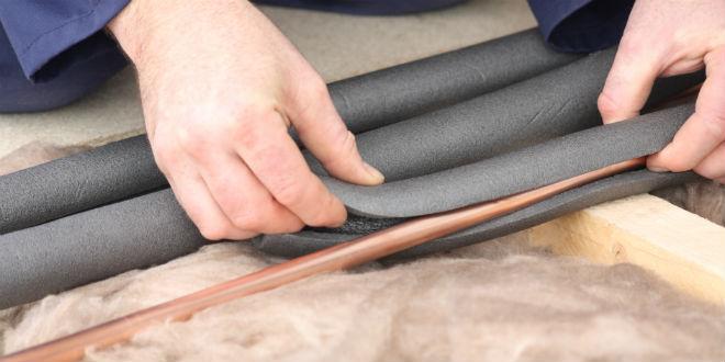 Как надежно утеплить водопроводную трубу на улице — материалы и порядок работ