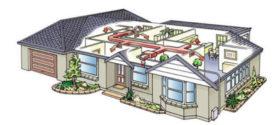 Вентиляция в частном доме своими руками — схема монтажа с выходом в стену