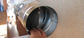 Для чего нужен обратный клапан для вентиляции и как сделать его своими руками