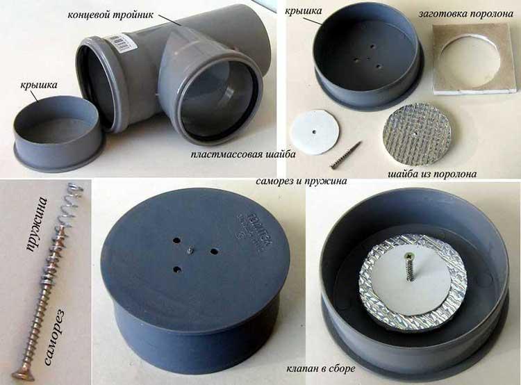 Запорныи клапан для вытяжки на кухне своими руками