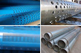 Фильтр для скважины - виды, конструкции, материал, установка.