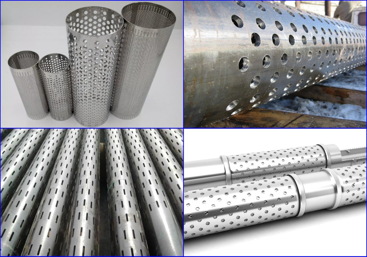 Металлические трубные фильтры.