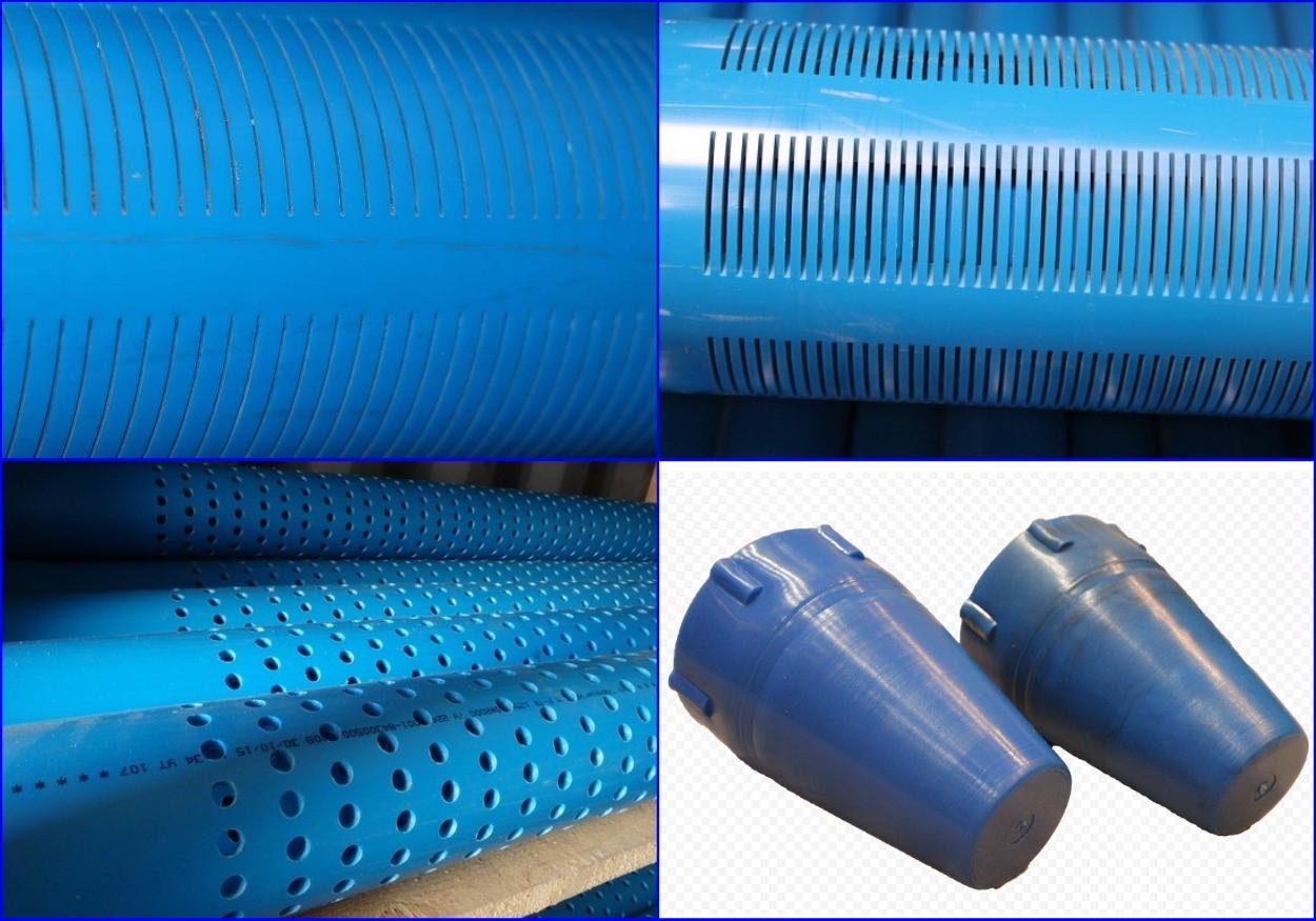 Полимерные фильтрующие трубы для скважины.