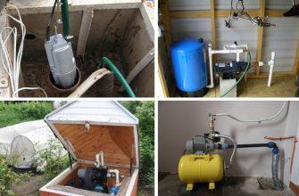 Обустройство скважины - варианты, оборудование, инструкции.