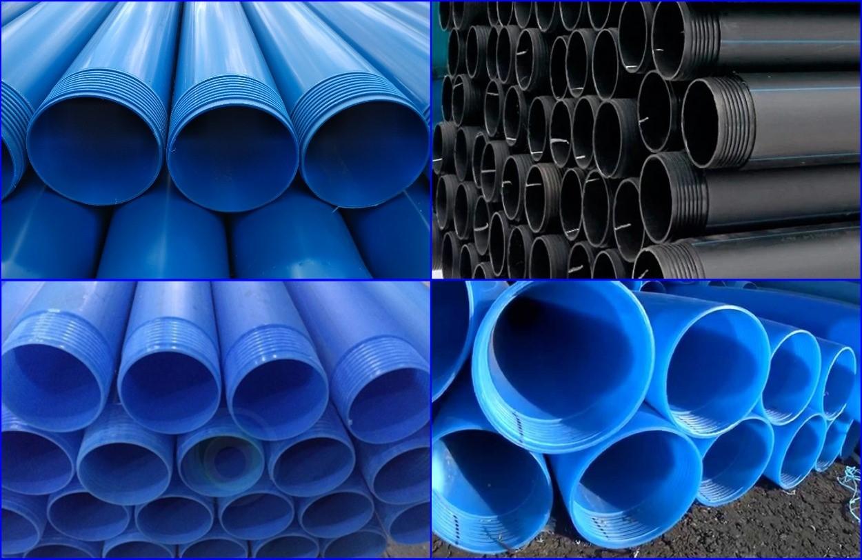 Обсадная труба для скважины из полимерных материалов.